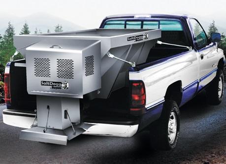 SaltDogg Pickup Truck Salt Spreaders Buyers Stainless Steel Gas Engine