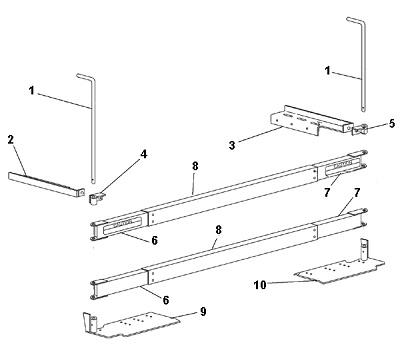 Western Tailgate Spreader Mount Tailgate/Swing Away Salter Model 110 Swing AwayAngelo's Supplies