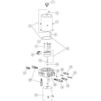 Western Prodigy Hydraulic Power Unit Angelo's Supplies