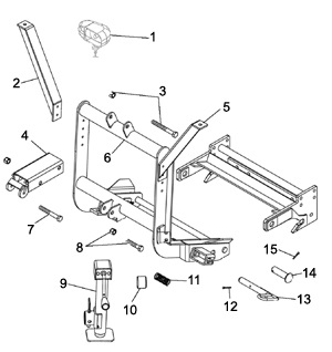 Meyer Snow Plow Plus Lift Frame Schematic Angelo's Supplies