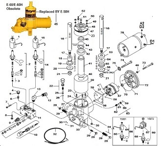 Meyer E60 Hydraulic Unit Power Pack Parts Schematic Angelo's Supplies