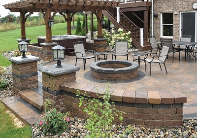 Fendt Brick Pavers & Retaining Walls at Angelo's Supplies