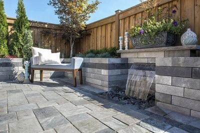 Unilock Brick Pavers & Retaining Walls at Angelo's Supplies