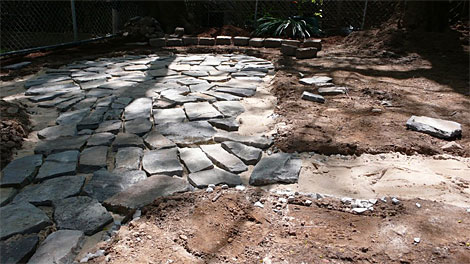 Flagstone Natural Patio Stone Angelos Supplies Siteone