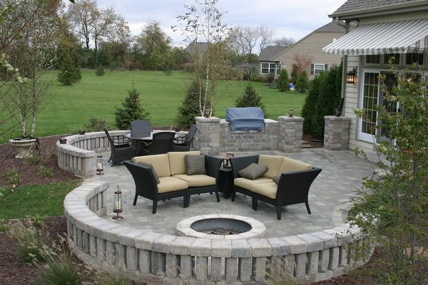 Outdoor Living Unilock Patio