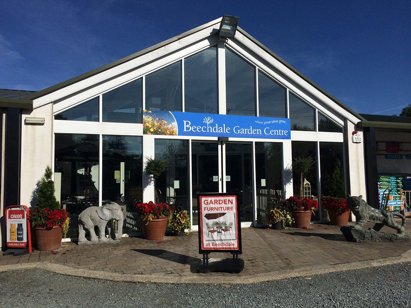 Beechdale Garden Centre Shop Front