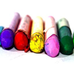 Charcoal, Oil & Chalk Pastels