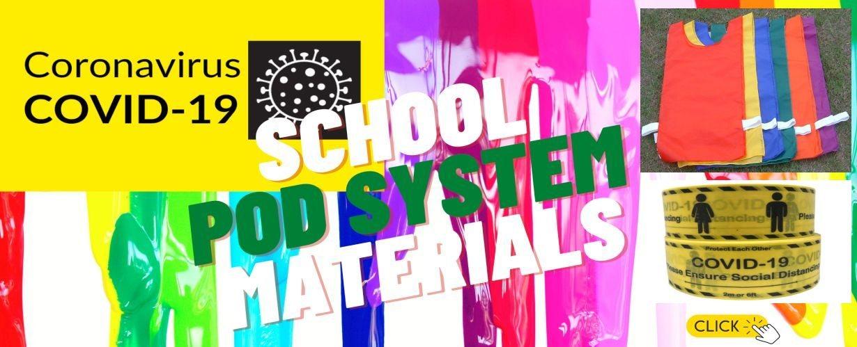 School Pod System Materials