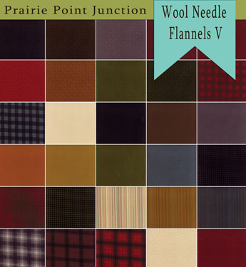 Wool and Needle Flannels V