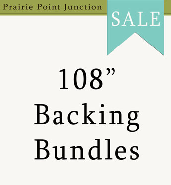 "Sale 108"" Backing Bundles"