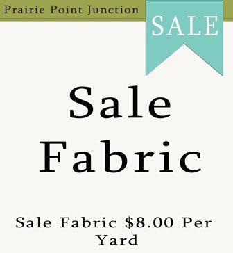 Sale Fabric $8.00 Per Yard