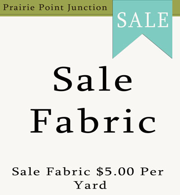 Sale Fabric $5.00 Per Yard