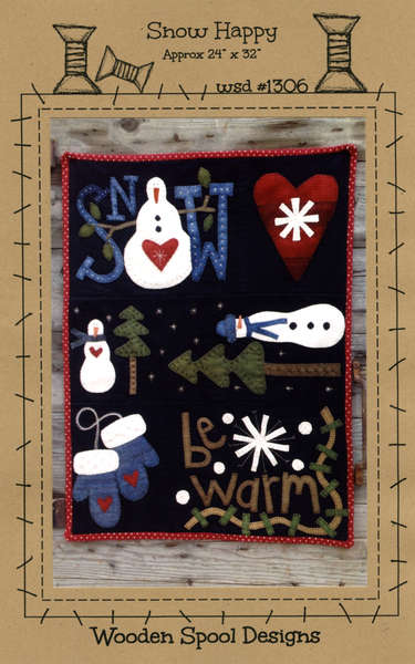Wool Quilts and Wallhangings