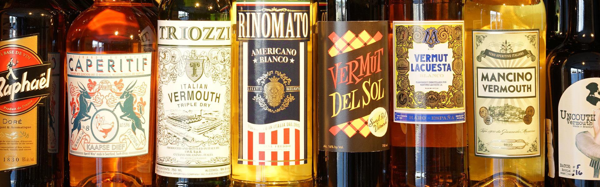 Vermouths and Apertifs