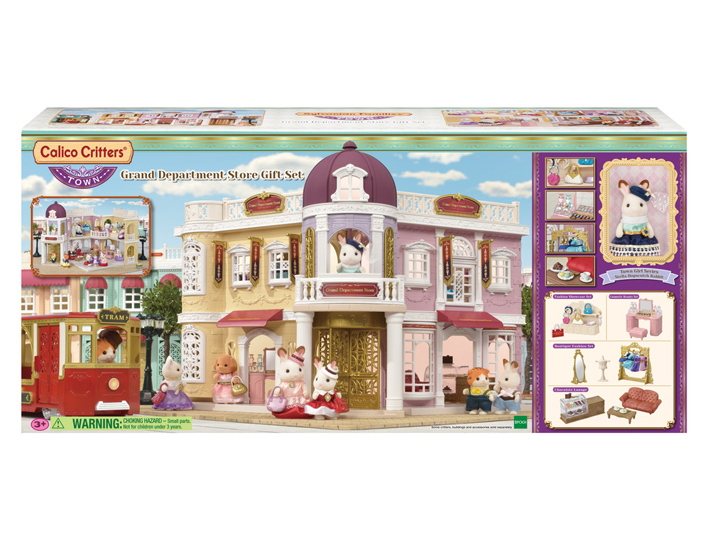 New Calico Critters Town Series