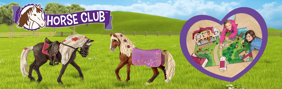 Schleich Horse Club Figures, Sets and Accessories