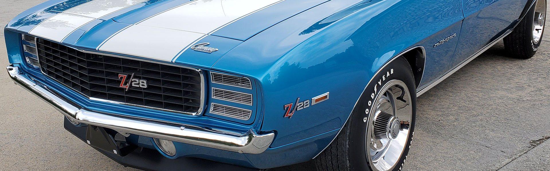 1969 Chevrolet Camaro Z/28 Rally Sport 302 Crossram