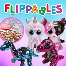 TY Flippables Plush