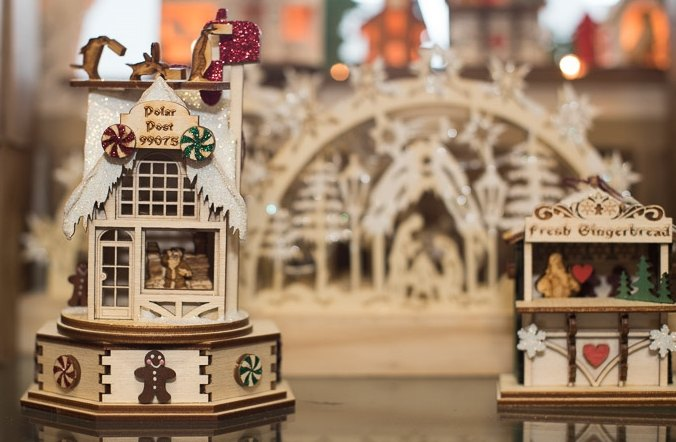 Huge selection of Ginger Cottages!  Exclusive Marco's Emporium piece now available!