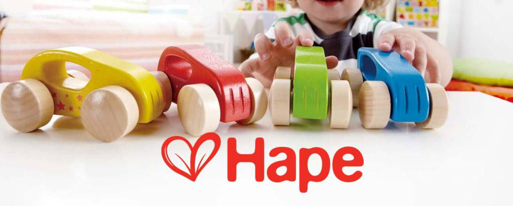 We're A Hape Flagship store!