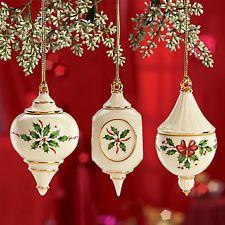 Lenox 2019 Ornaments/Plates