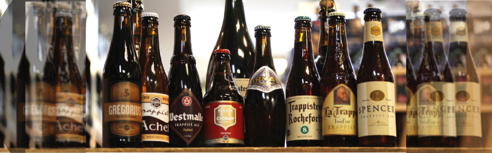 Trappist beers!