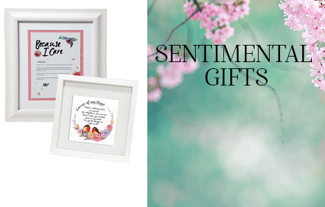 View Our Extensive Range Of Sentimental Gifts