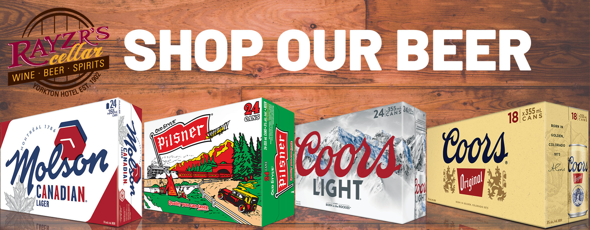 Shop Our Beer