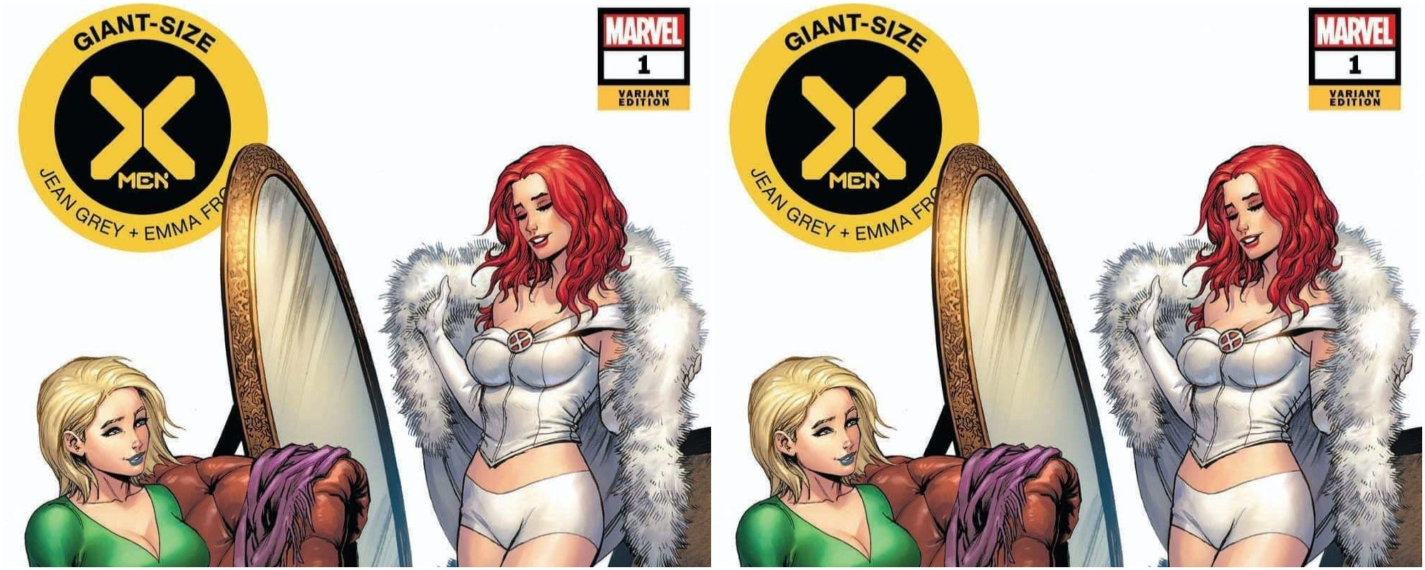 GIANT SIZE X-MEN JEAN GREY AND EMMA FROST #1 C2E2 TYLER KIRKHAM EXCLUSIVE VARIANT