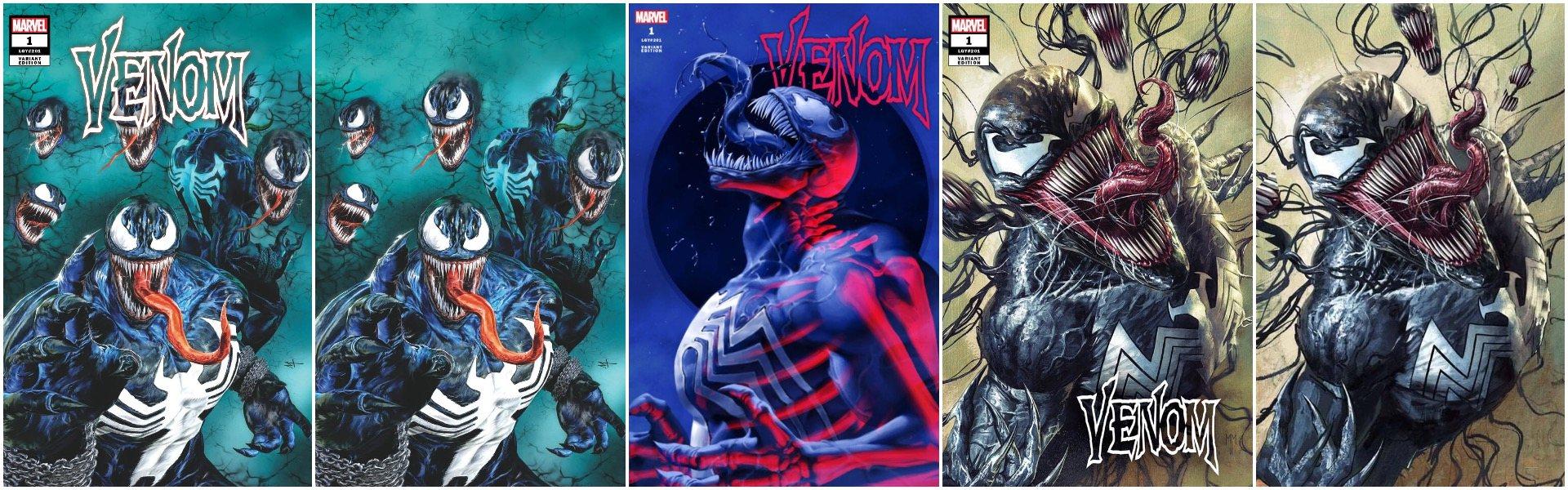 Venom #1 Exclusives