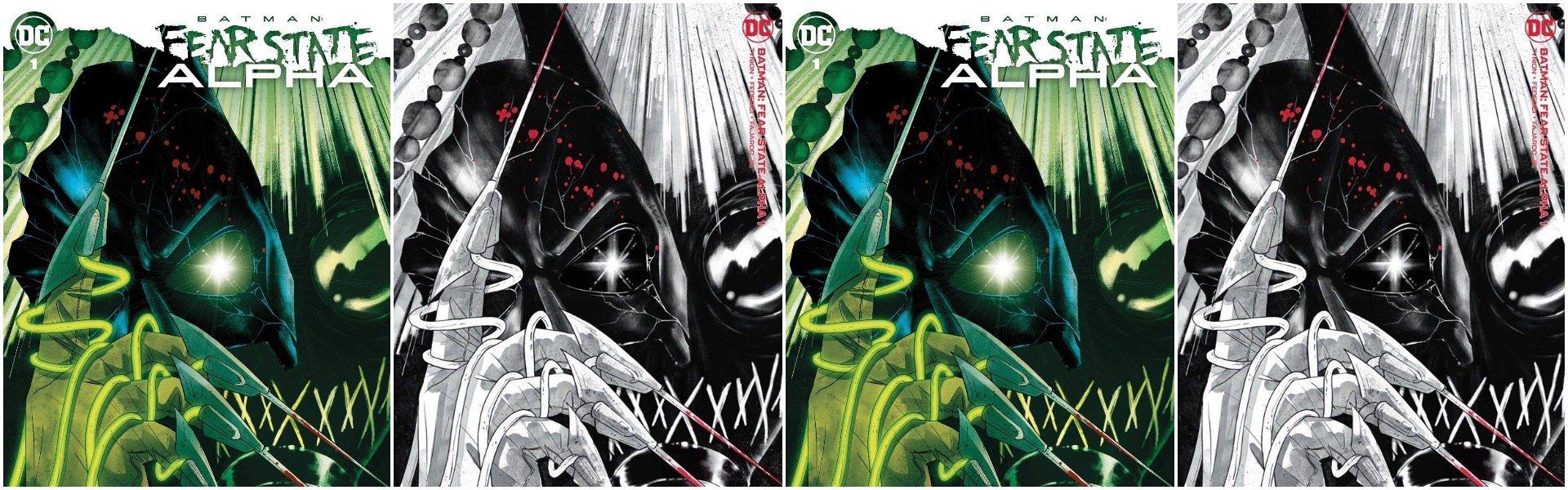 Batman Fear State Alpha #1 Megan Hutchison-Cates Exclusives