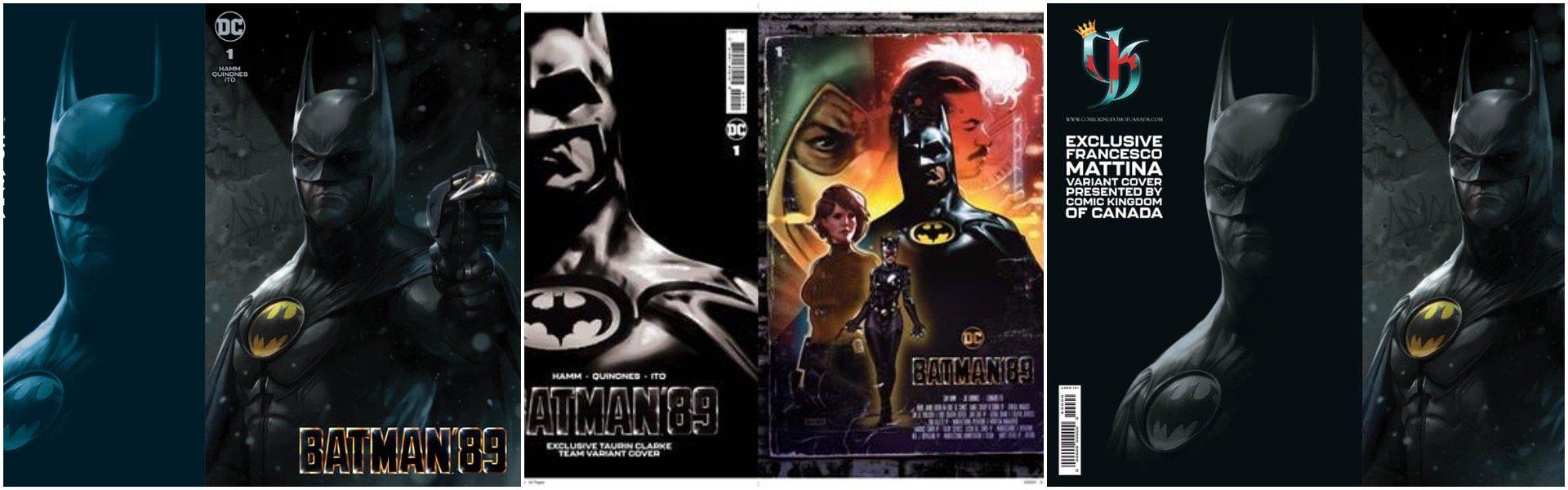 Step back into the Gotham of Tim Burton's seminal classic Batman movies!