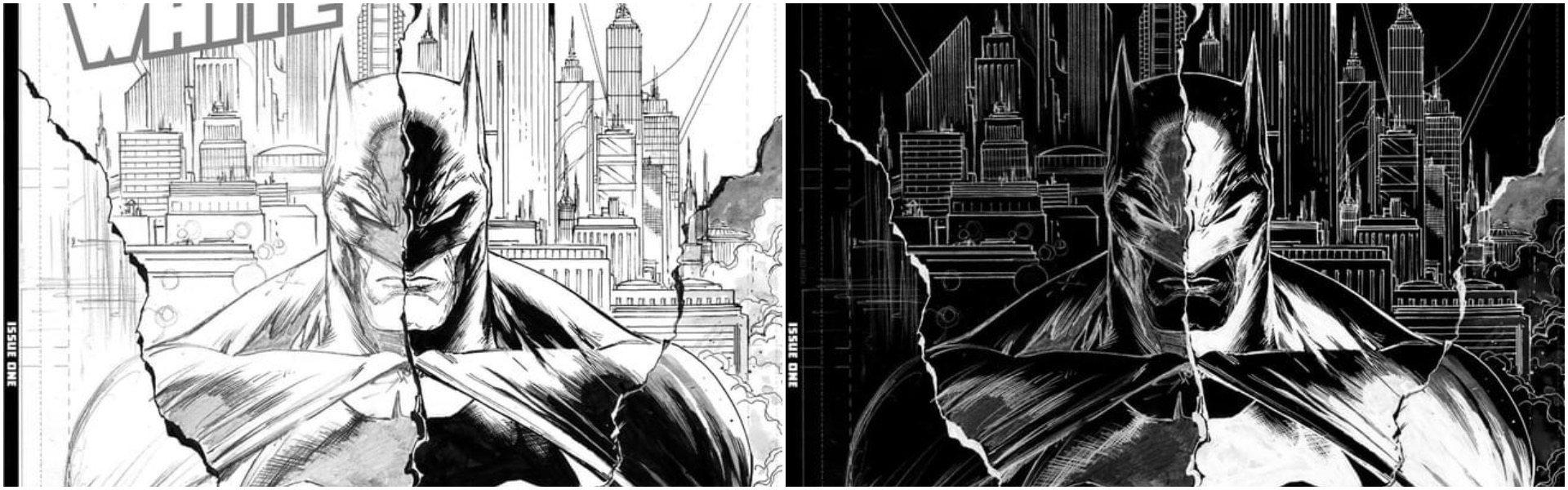 Batman Black and White #1 Tyler Kirkham Variants