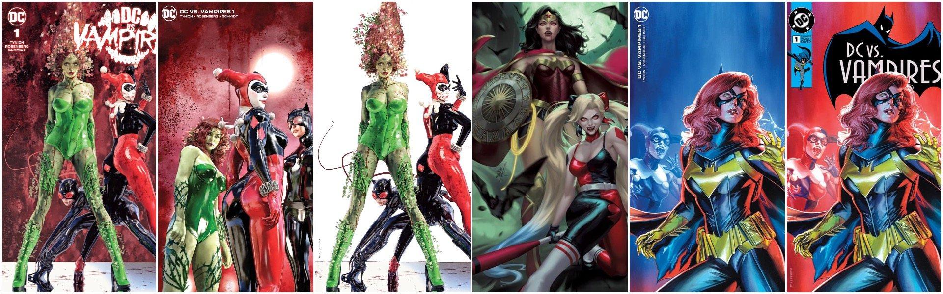 DC vs Vampires #1 Exclusives