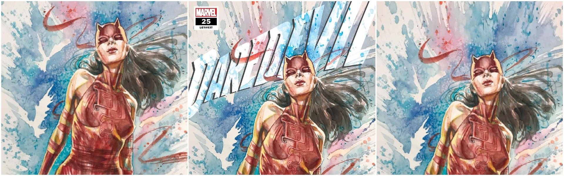 Daredevil #25 David Mack 2nd Print Exclusives
