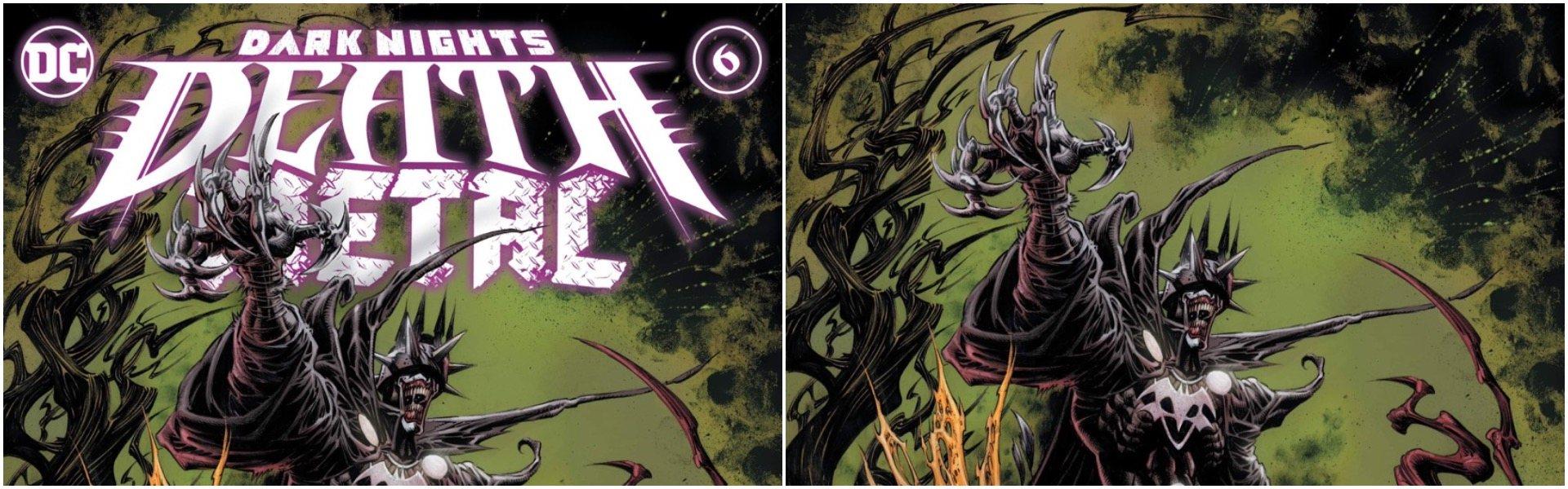 Dark Nights Death Metal #6 Kyle Hotz Variants