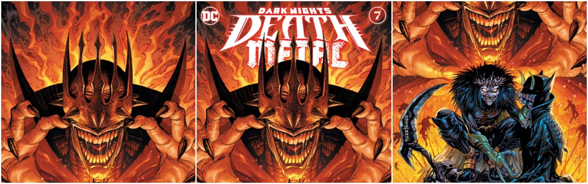 Dark Nights Death Metal #7 Tyler Kirkham Variants
