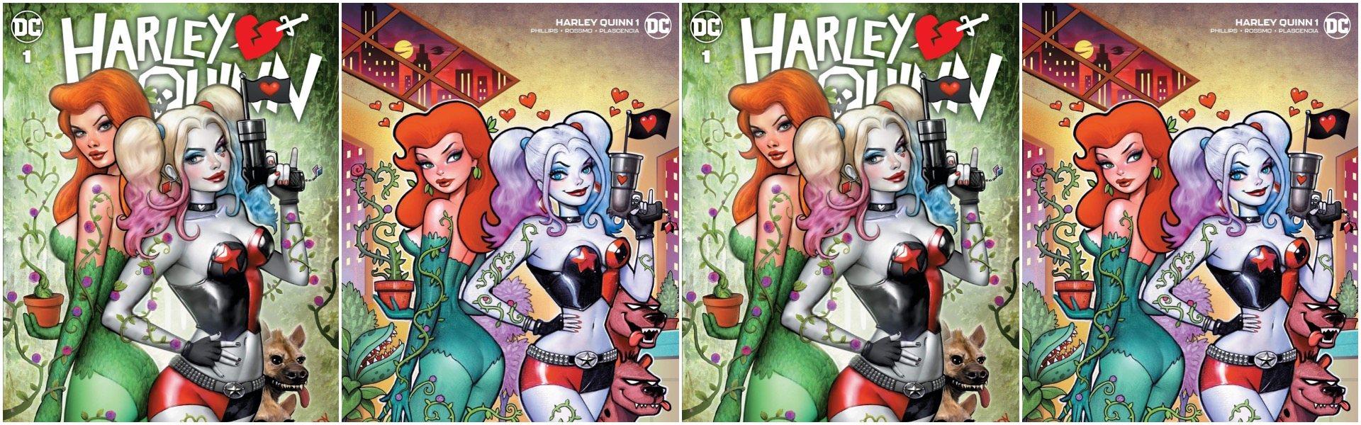 Harley Quinn #1 Nathan Szerdy Variants