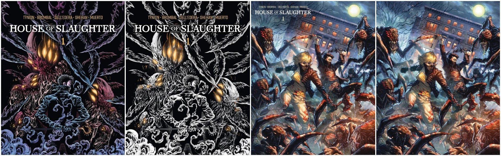 House of Slaughter #1 Exclusives