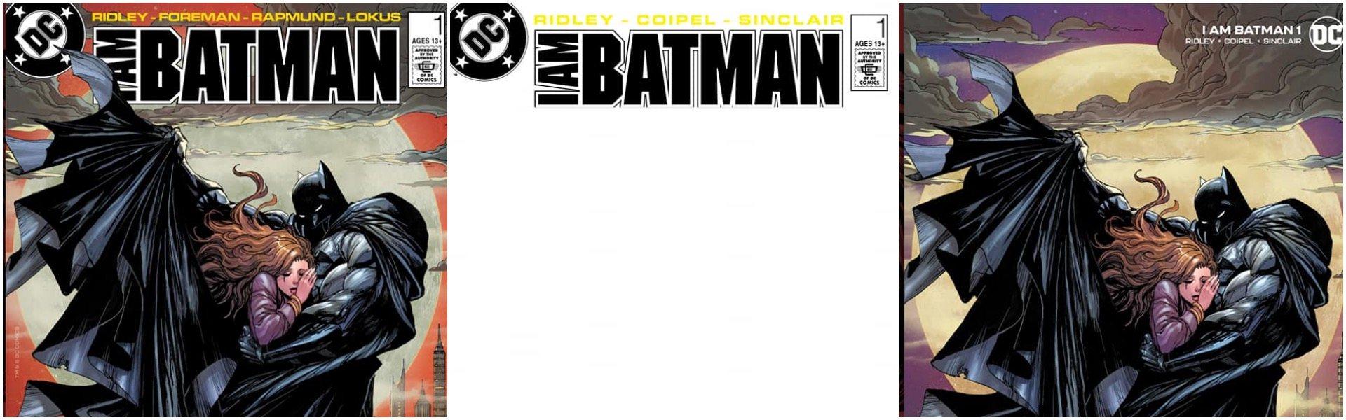 I am Batman #1 Tyler Kirkham Retro Exclusives