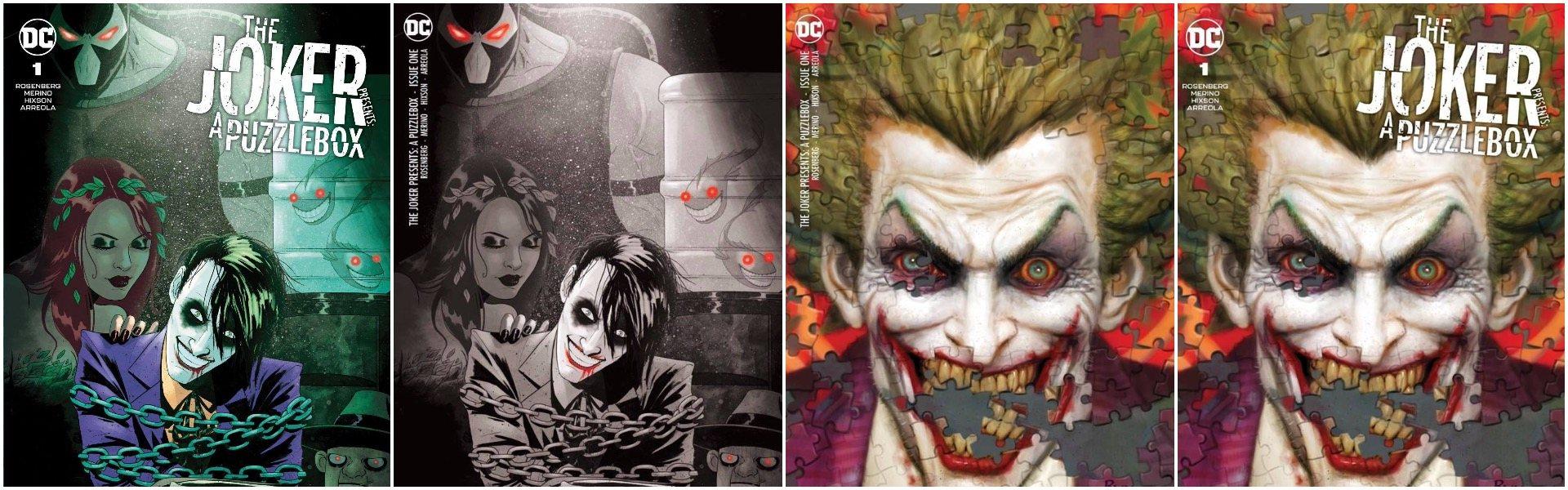 Joker Puzzlebox Exclusives!