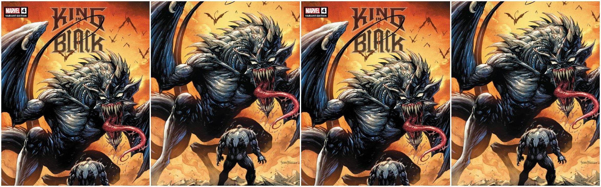 King in Black #4 Tyler Kirkham Variants
