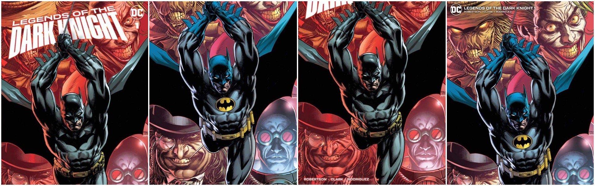 Legends of the Dark Knight #1 Jason Fabok Variants