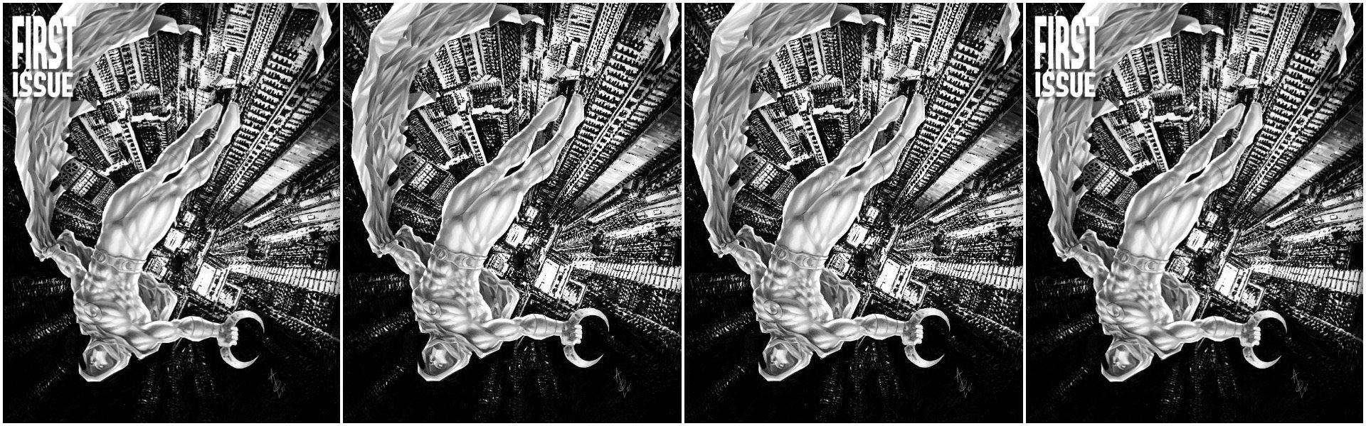 Moon Knight #1 Alan Quah Variants