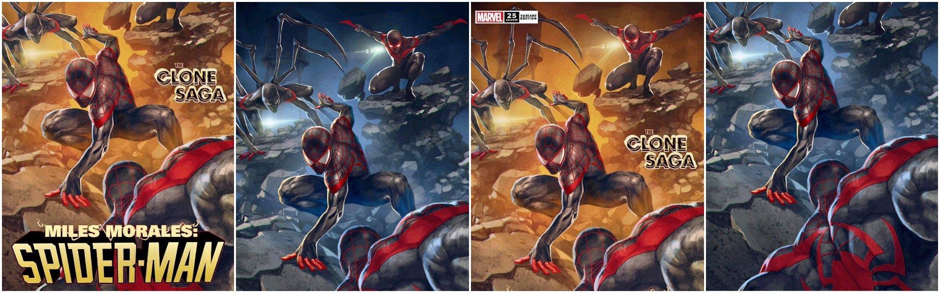 Miles Morales Spider-Man #25 Skan Variants