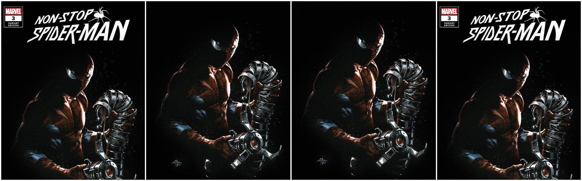 Non-Stop Spider-Man #3 Gabriele Dell'Otto Variants