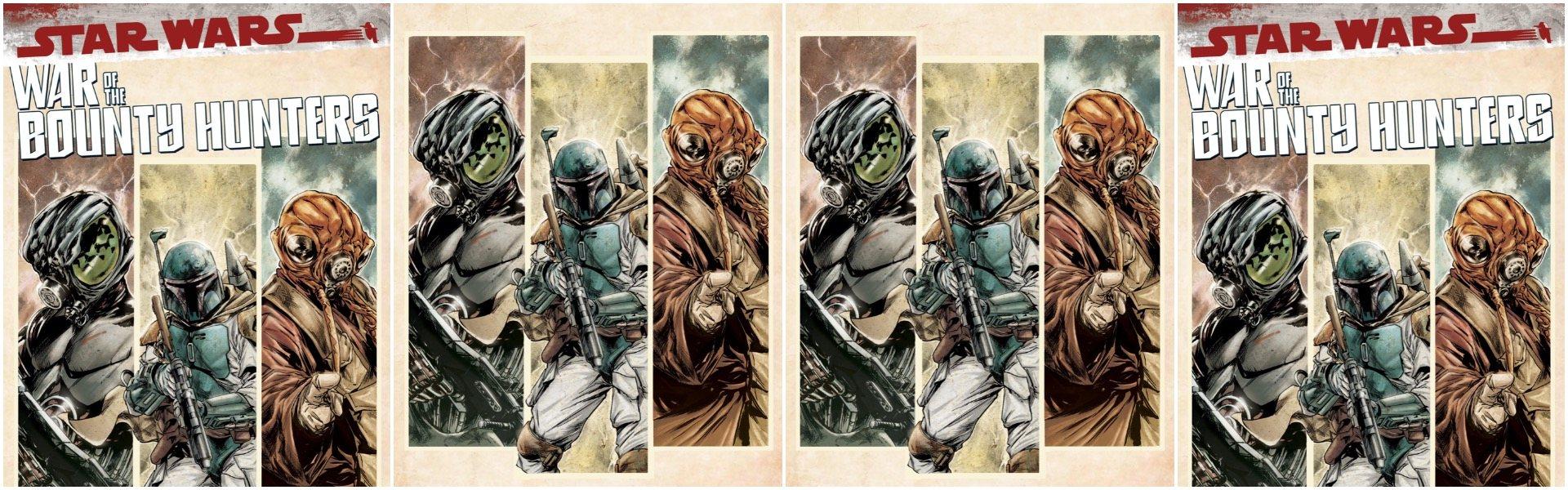 War of the Bounty Hunters #1 Paolo Villanelli Variants