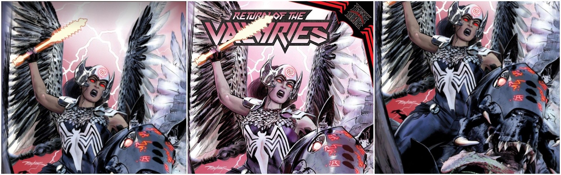 Return of the Valkyries #1 Mike Mayhew Variants
