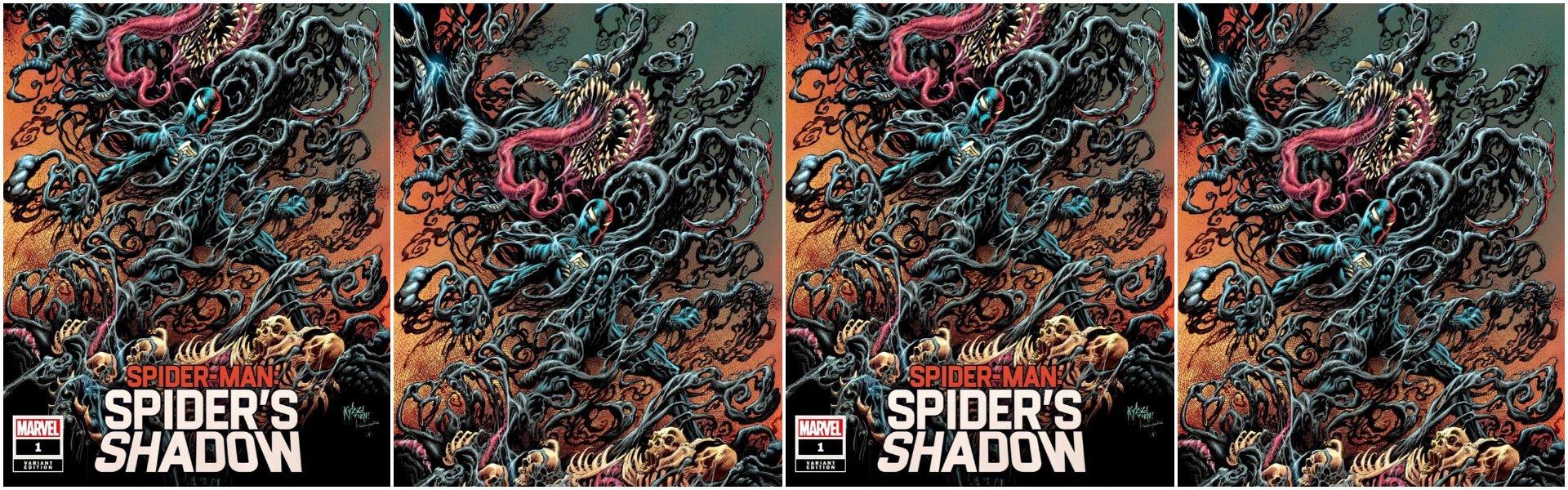 Spider-Man Spider's Shadow #1 Kyle Hotz Variants