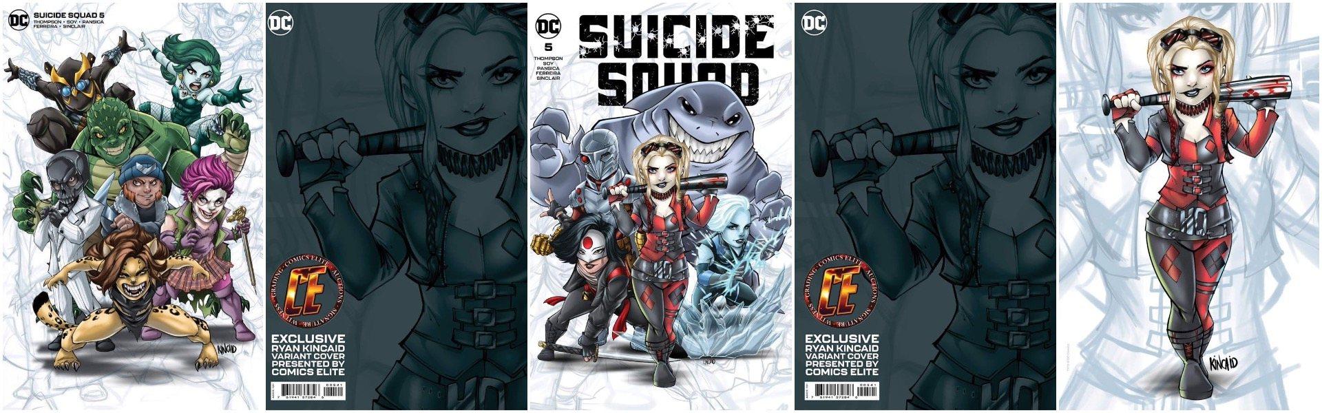Suicide Squad #5 Ryan Kincaid Chibi Variants